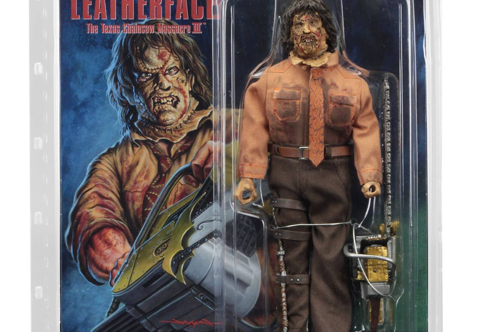 Texas Chainsaw Massacre 3 – Leatherface Retro Mego Style Figure