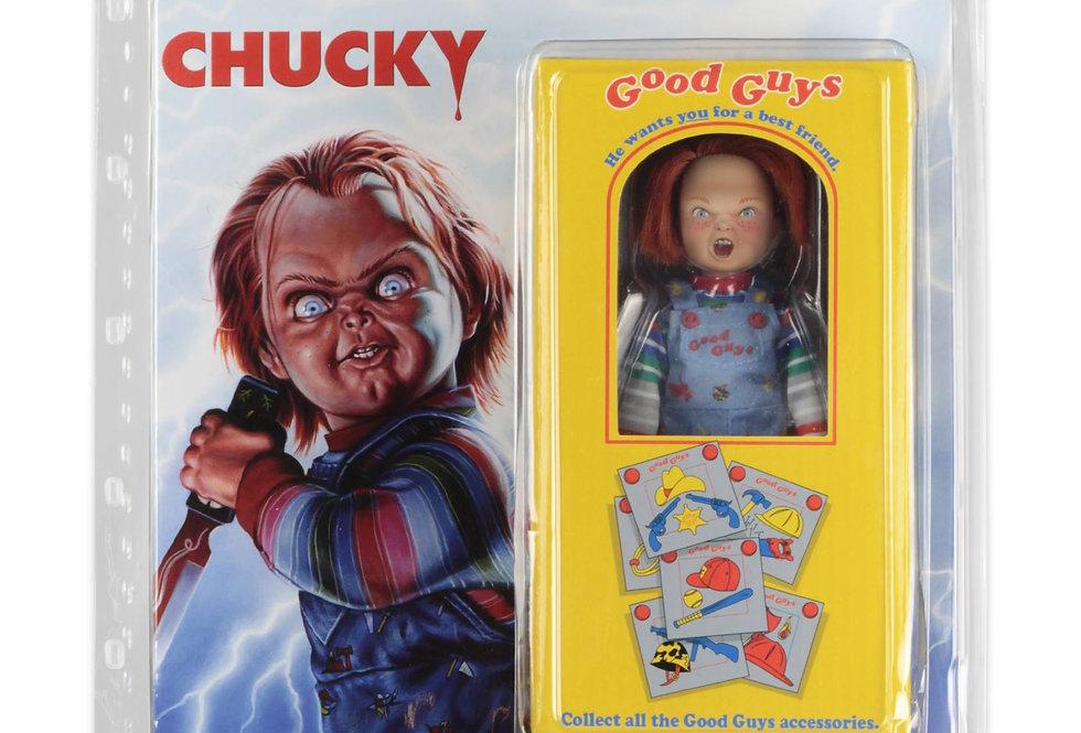 NECA Retro Style Child's Play Chucky Figure