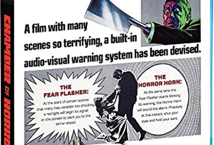 Chamber of Horrors (1966) (Shout) (BluRay)