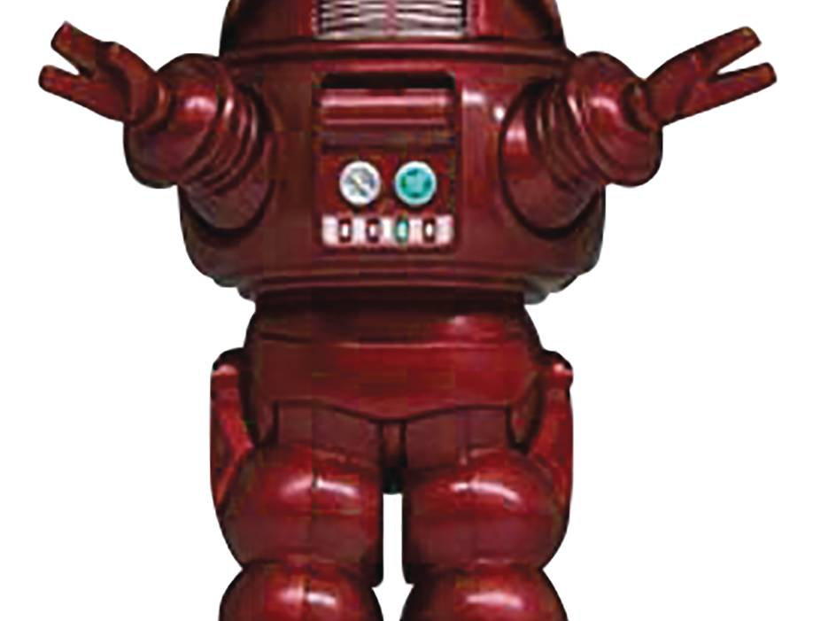 FORBIDDEN PLANET ROBBY ROBOT RED SOFT VINYL PX FIG