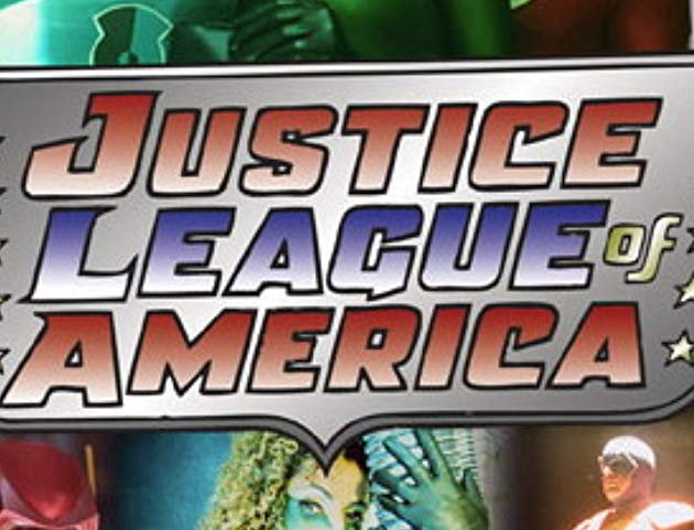 JUSTICE LEAGUE OF AMERICA. LIVE-ACTION PILOT DVD