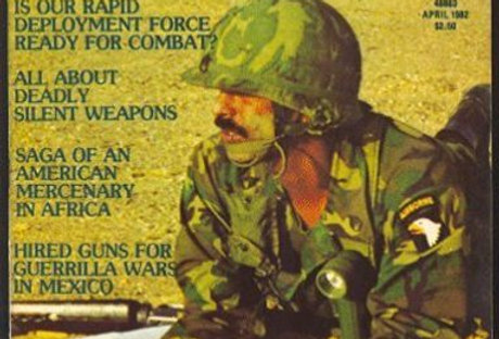 NEW BREED April 1982 First Issue Mercenary Military MAG