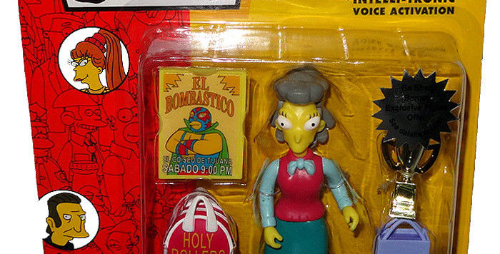 HELEN LOVEJOY THE SIMPSONS 5 INCH FIGURE PLAYMATES SERIES 13