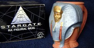 Stargate Ra figural mug