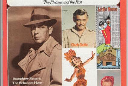 Nostalgia Illustrated Magazine 1975 Humphrey Bogart Clark Gable Esther WIlliams