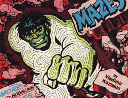 STAN LEE PRESENTS SON OF MIGHTY MARVEL MAZES BOOK