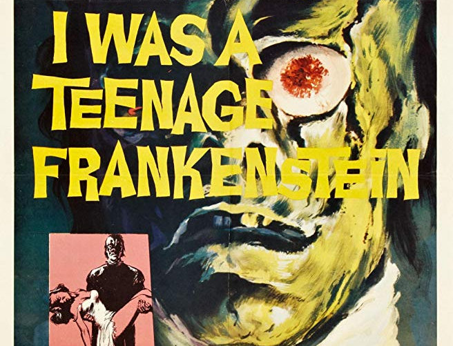 I Was A Teenage Frankenstein (Dvd-R)