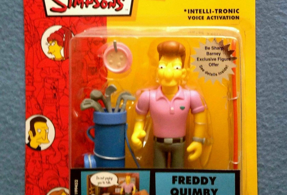 Playmates The Simpsons World of Springfield Series 13 Freddy Quimby Figure