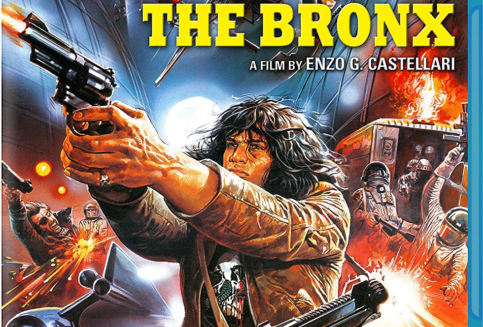 Escape From The Bronx (Blu-ray/DVD Combo)