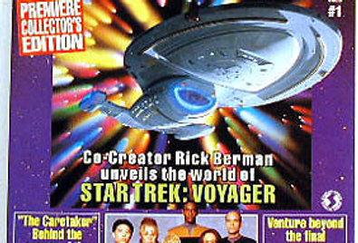 Star Trek Voyager Official Magazine #1- Starlog