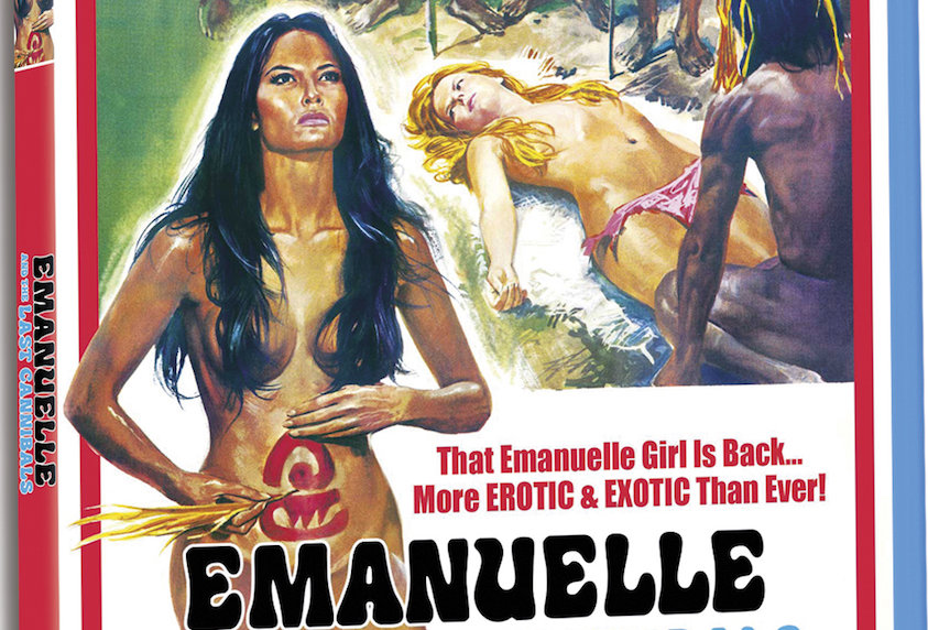 Emanuelle and the Last Cannibals (Standard Edition Blu-Ray)
