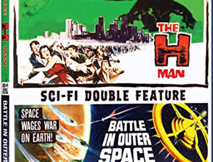 H-Man & Battle in Outer Space (Mill Street) (Blu-Ray)