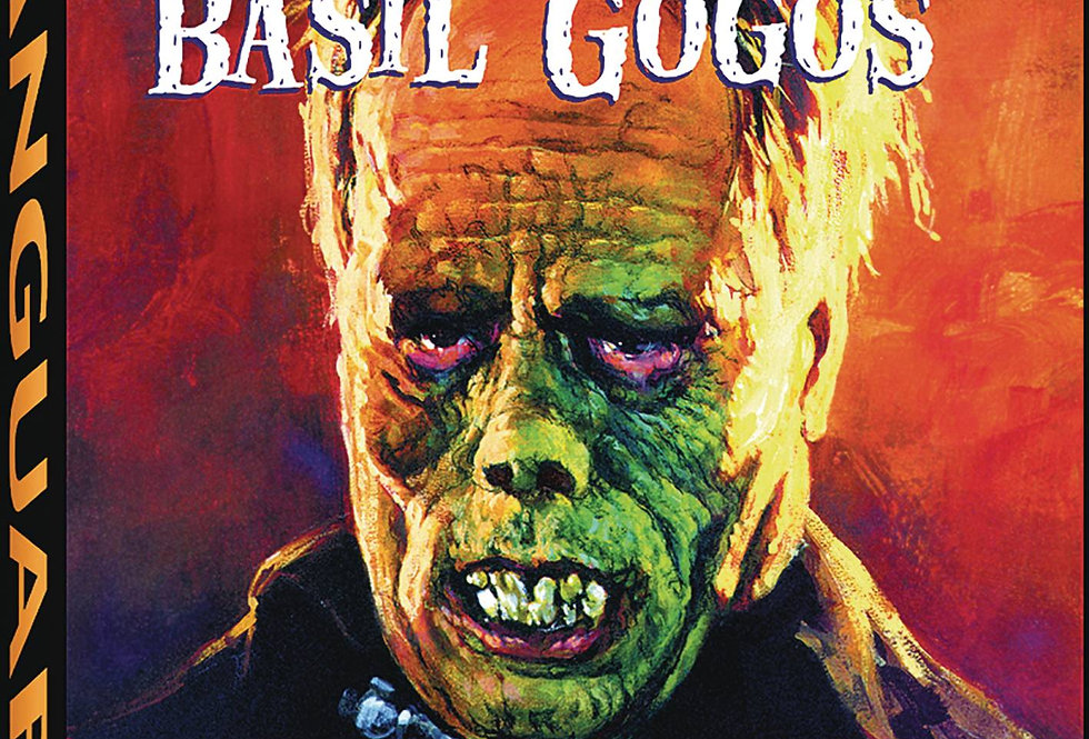 FAMOUS MONSTER MOVIE ART OF BASIL GOGOS HC NEW PTG