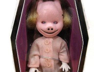 Living Dead Dolls Minis Squeak Figure w/ Coffin & noose Mezco Toys