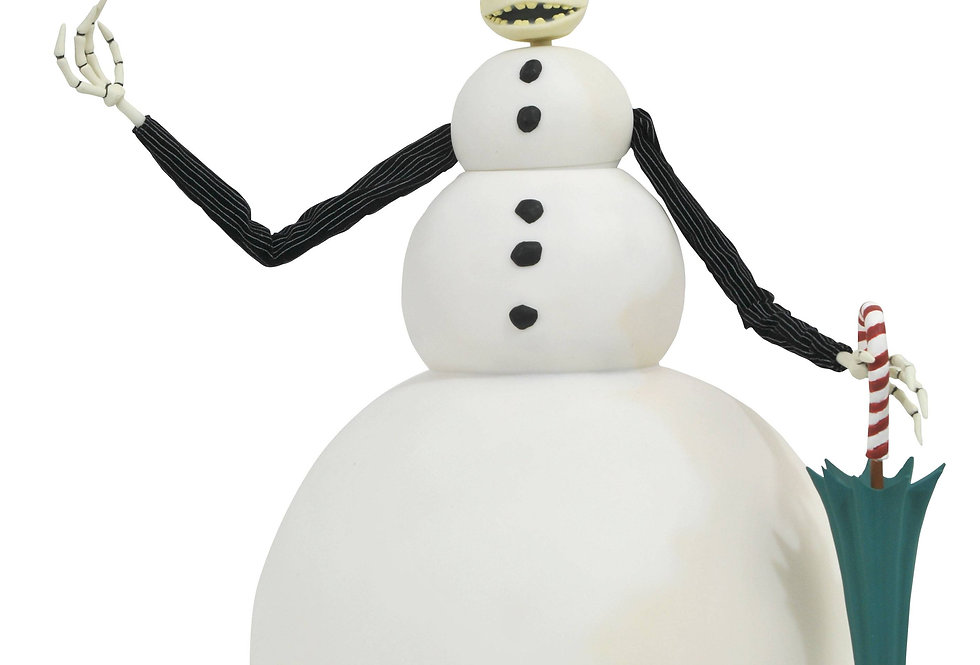 Nightmare Before X-Mas JACK SNOWMAN DELUX  DOLL