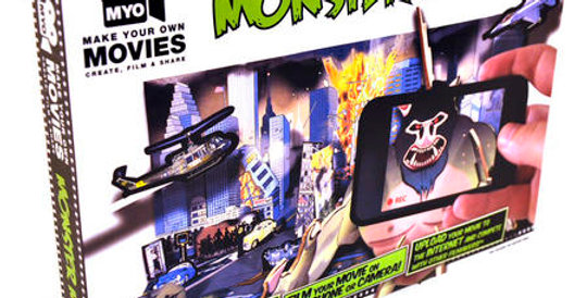 Make Your Own Monster Movie Play Set
