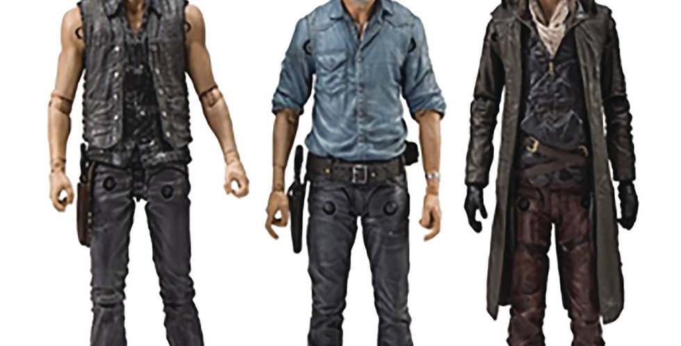 WALKING DEAD TV ALLIES Delux Action Figure SET