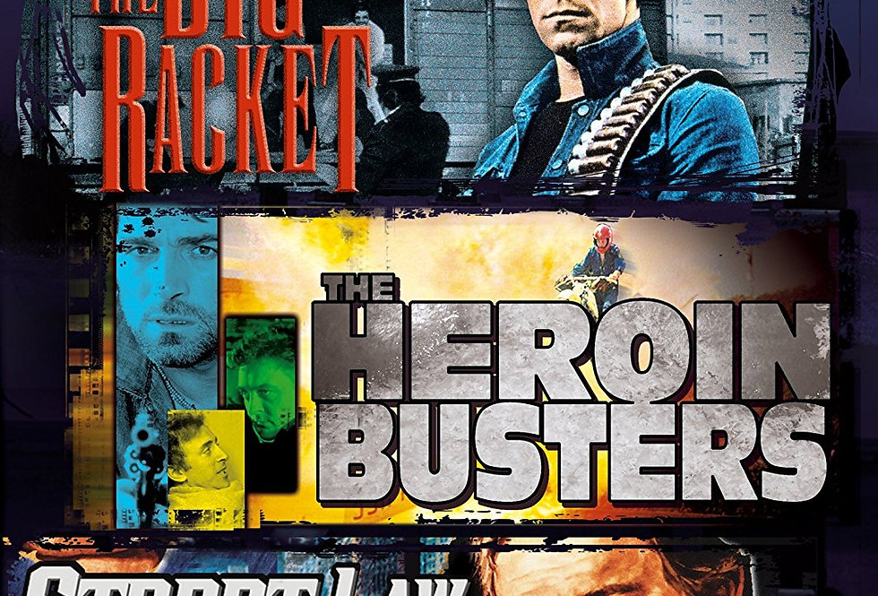 Midnight Movies, Vol. 3: Action Program Triple (The Big Racket / Heroin Buster