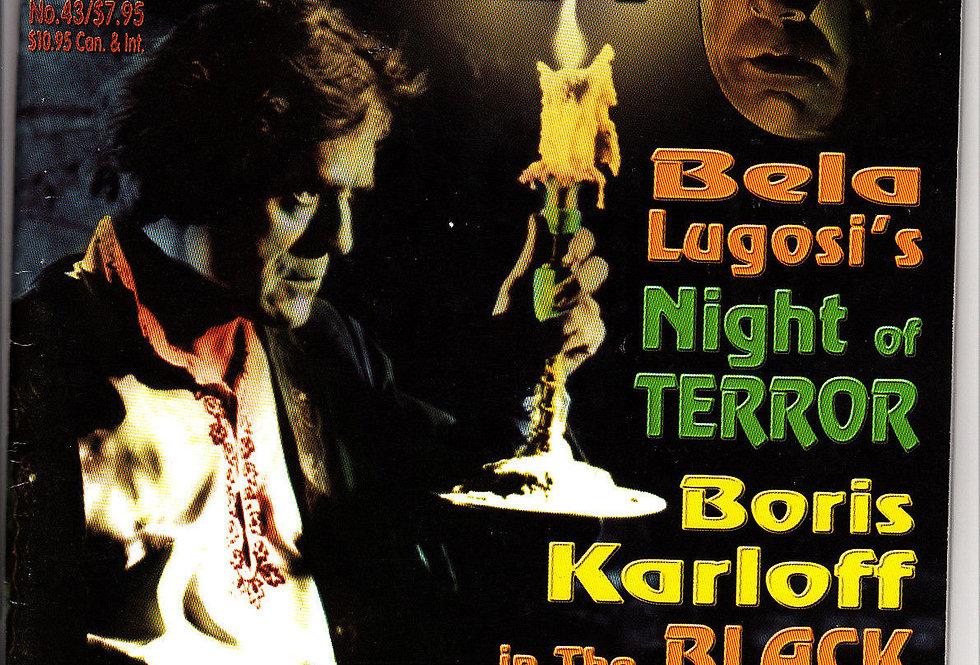 Scarlet Street Magazine #43 Horror Bela Lugosi Night Of Terror Boris Karloff