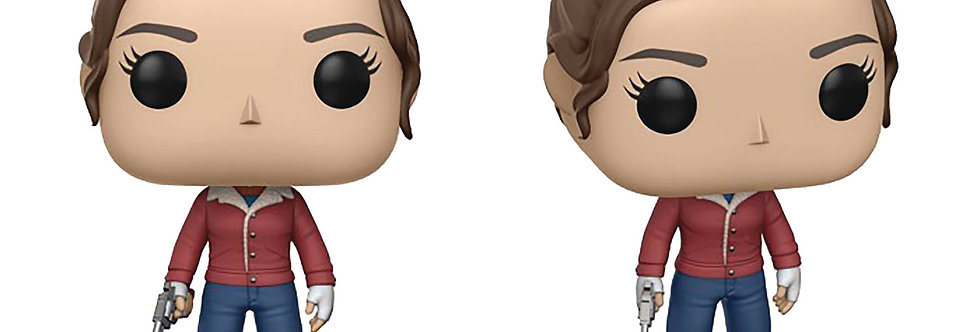 POP STRANGER THINGS NANCY WITH GUN VINYL FIGURE