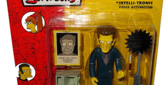 Simpsons Legs Mobster Action Figure Series 13 WOS MOC World Of Springfield Toy