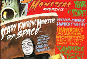 SCARY MONSTERS #24 - 194 monster pages - Janet Leigh Interview