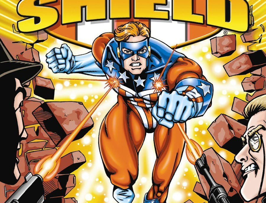 America's 1st Patriotic Comic Book Hero The Shield Paperback