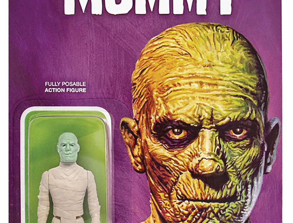 UNIVERSAL MONSTERS MUMMY MUTANT REACTION FIGURE