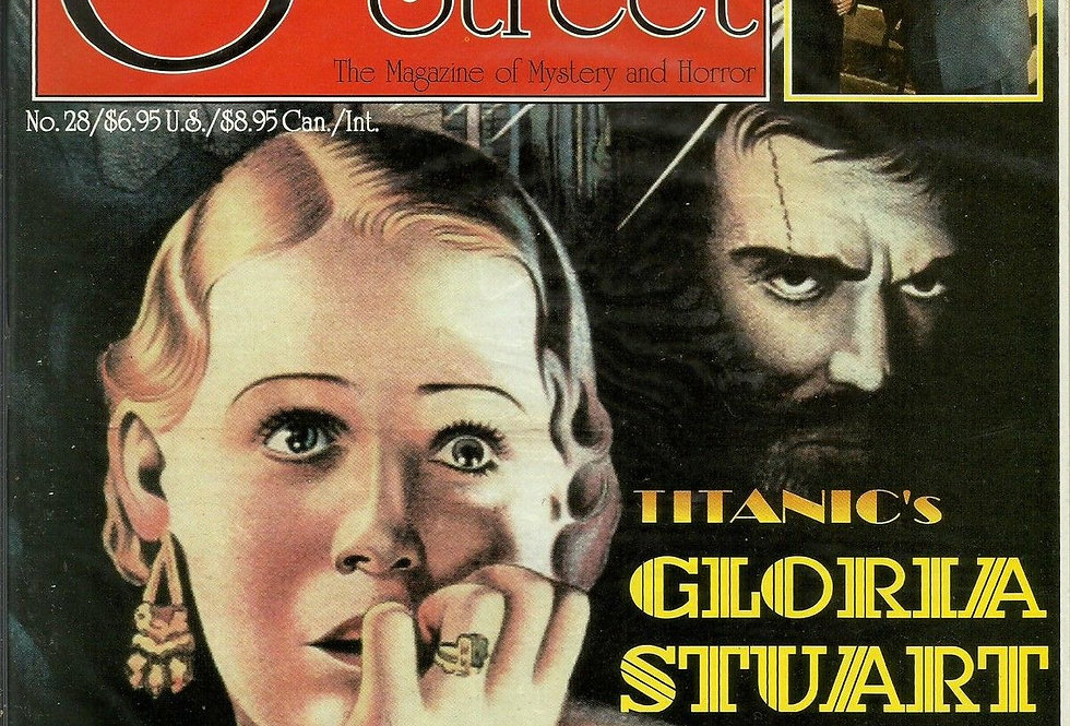 SCARLET STREET Horror Movie Magazine #28 NM Gloria Stuart