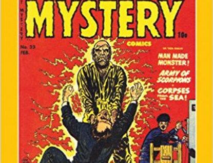 Black Cat Mystery Comics Volume One