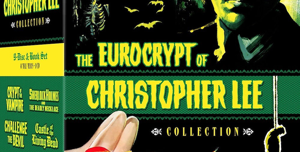 Eurocrypt of Christopher Lee Collection (Severin CD / Blu-Ray)