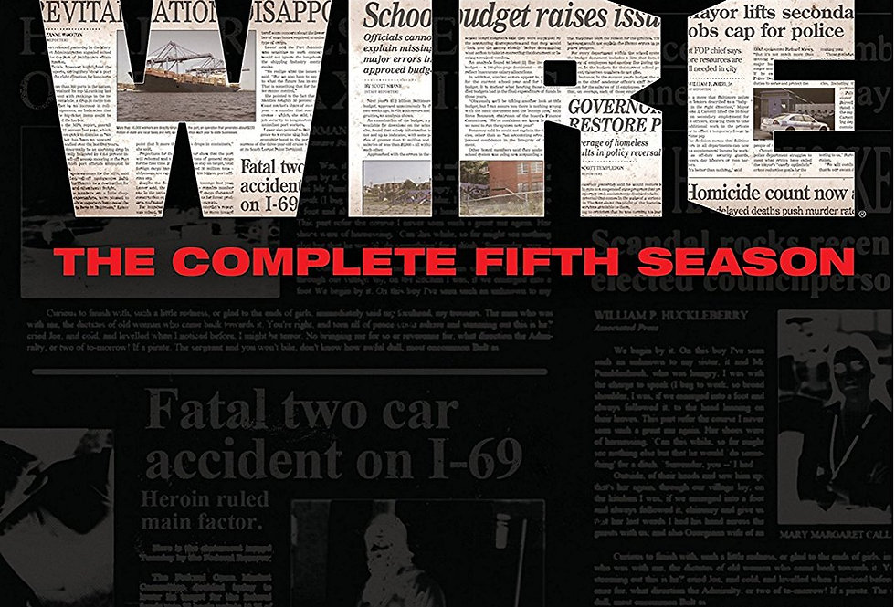 The Wire: The Complete Fifth Season