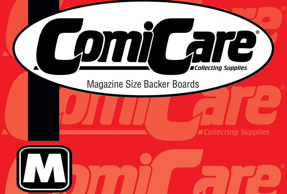 COMICARE MAG BOARDS (SOLD IN 50)
