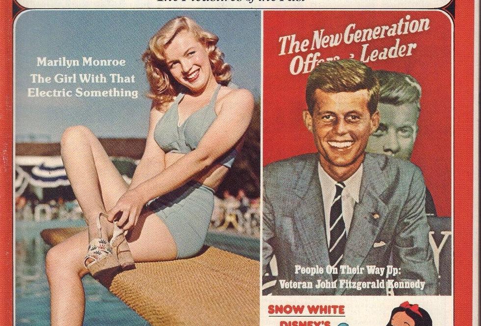 Nostalgia Illustrated Magazine June 1975 Marilyn Monroe JFK