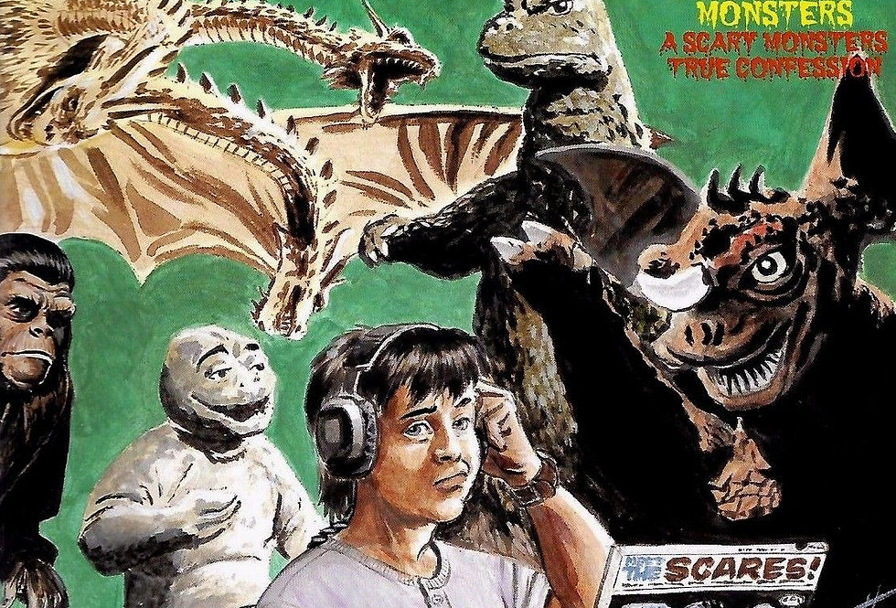 Scary Monsters MONSTER MEMORIES # 8 - 2000 Yearbook
