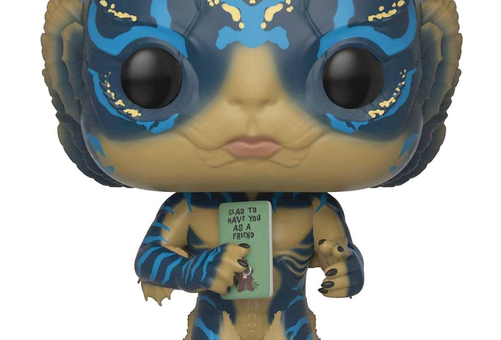 POP SHAPE OF WATER AMPHIBIAN MAN W/CARD VINYL FIGURE