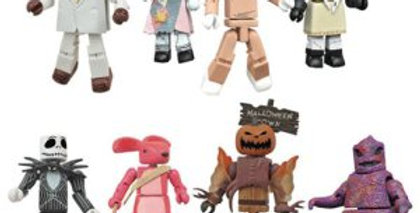 Nightmare Before Christmas Minimates Series 3