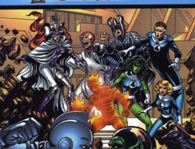 Fantastic Four: Visionaries: John Byrne Volume 5
