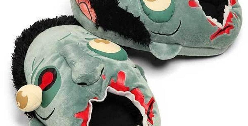 Fuzzy Zombie Plush Slippers