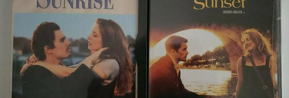 Before Sunrise / Before Sunset DVD bundle NEW - SEALED