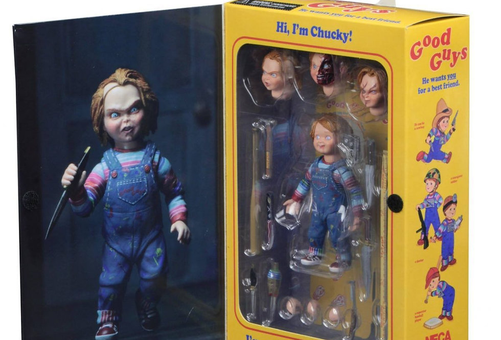 Chucky – 4″ Scale Action Figure – Ultimate Chucky​