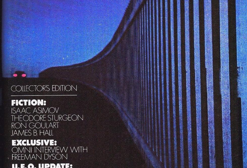Omni Magazine Oct. 1978 First Issue Vol. 1 No. 1