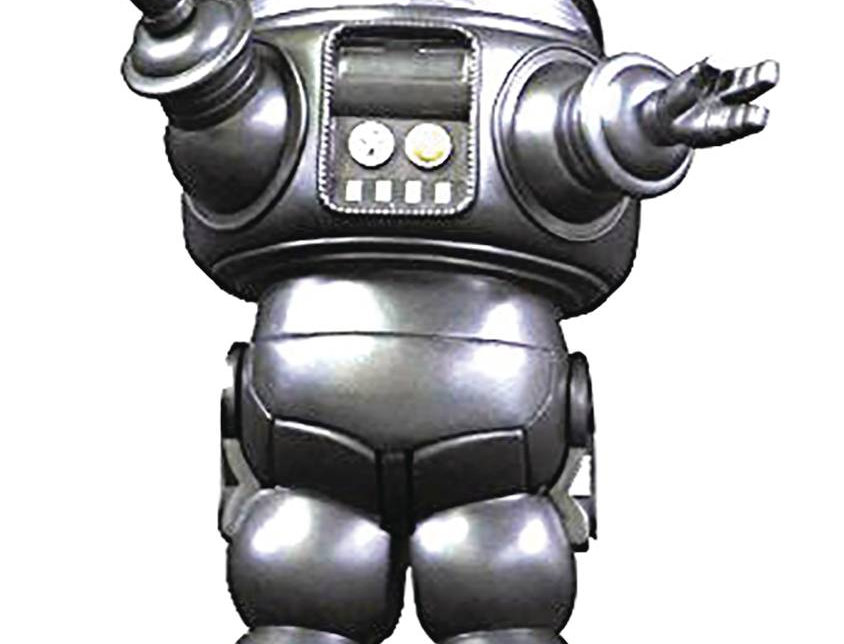 FORBIDDEN PLANET ROBBY ROBOT SILVER DIE CAST PX FIG