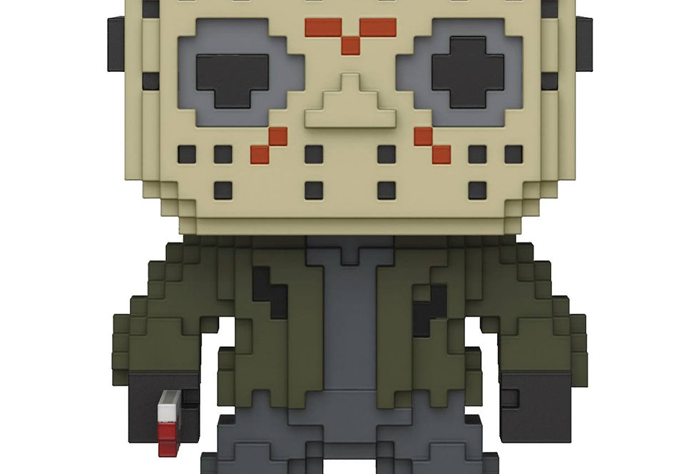 POP 8-BIT HORROR JASON VOORHEES VINYL FIGURE
