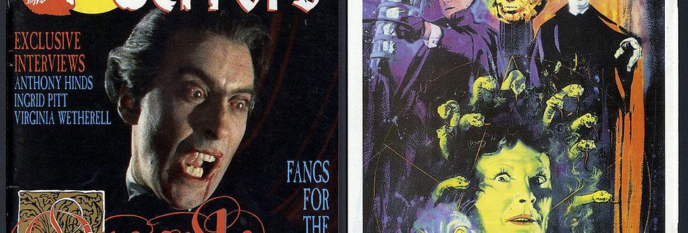 Dark Terrors Hammer Film making of Dracula Issue 16 Horror Magazine Rare Great