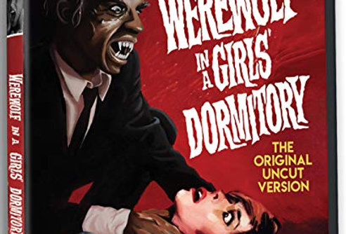 Werewolf in a Girl's Dormitory (Severin 2 Disc CD / Blu-Ray All Region)