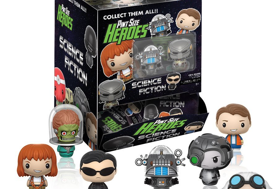 PINT SIZED HEROES SCIENCE FICTION