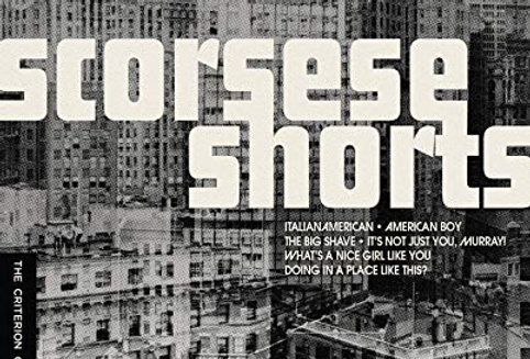 Scorsese Shorts [Criterion] (Blu-Ray)