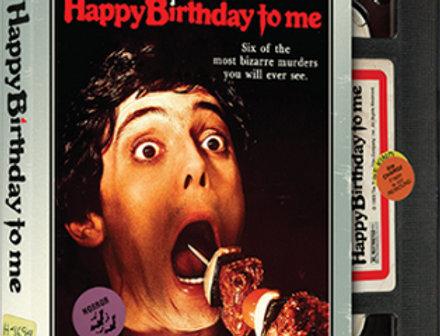Happy Birthday to Me (Retro VHS Look)