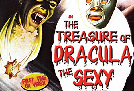 Santo in the Treasure of Dracula: The Sexy Vampire 4K (VCI) (BluRay)